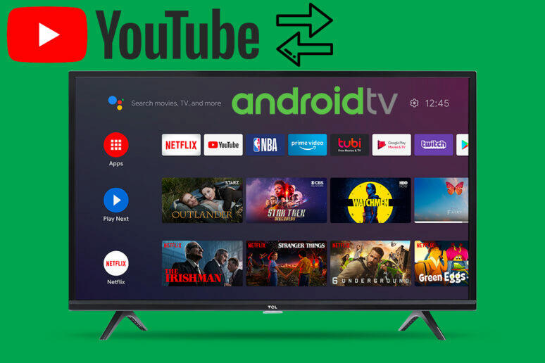 android tv přepínání youtube účtů