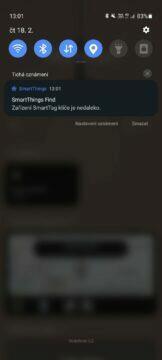 aplikace SmartThings notifikace