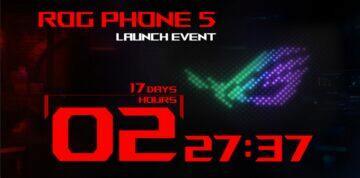 ASUS ROG Phone 5 odpočet