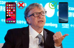 bill gates android co používá za telefon