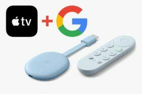 Chromecast Apple TV aplikace