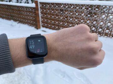 chytré hodinky levně