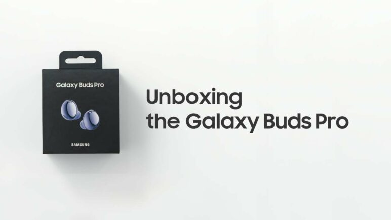 Galaxy Buds Pro: Official Unboxing | Samsung