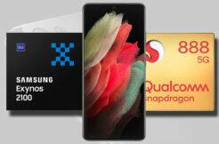 Galaxy S21 Ultra Exynos 2100 Snapdragon 888