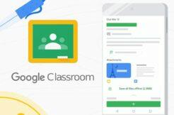 Google Classroom offline mód