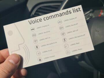 hlasové příkazy