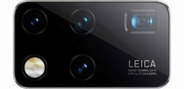Huawei Mate X2 fotoaparát