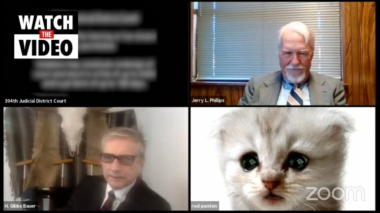 """I'm not a cat"": Lawyer struggles with cat filter during Zoom court hearing"
