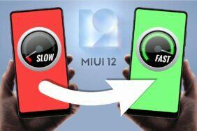 jak na MIUI 12 zpomalený mobil