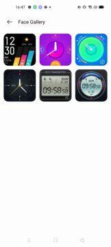jak změnit ciferník na realme watch