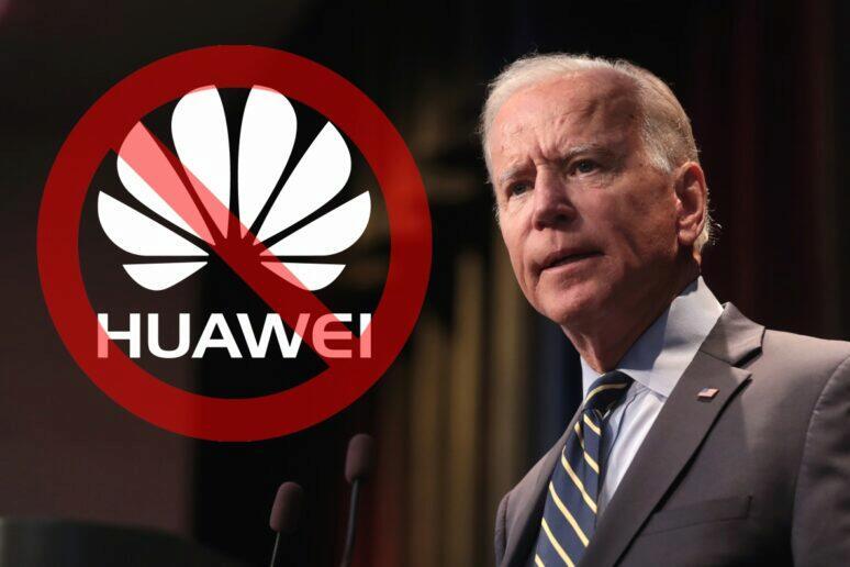 Joe Biden zrušení Huawei sankcí