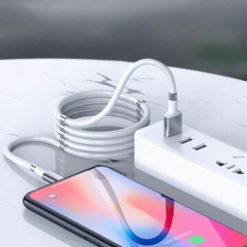 kabel s magnetickými úchyty zásuvka
