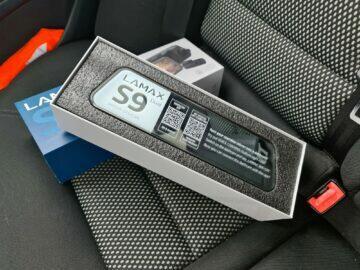 LAMAX S9 Dual balení displej