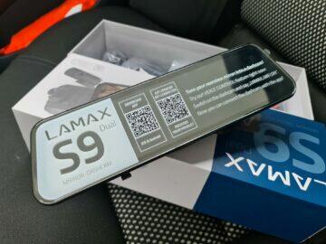 LAMAX S9 Dual design přední panel