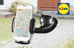 LIDL nabíjecí držák mobilu Silvercrest