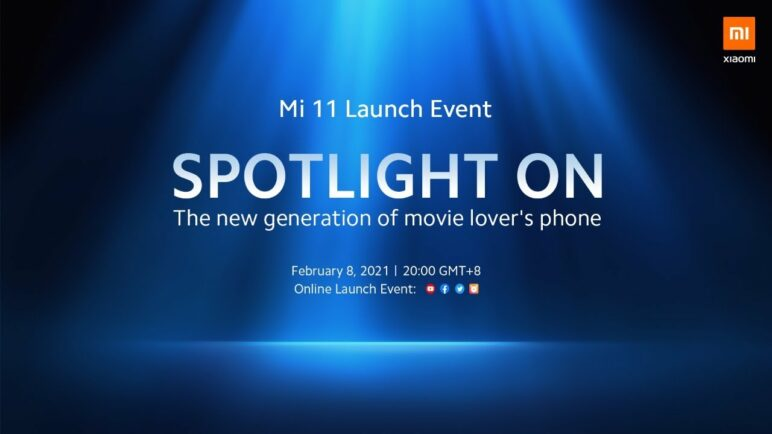 Mi 11 Global Launch Event