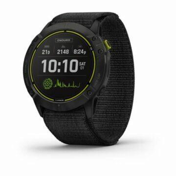 nové hodinky Garmin Enduro displej