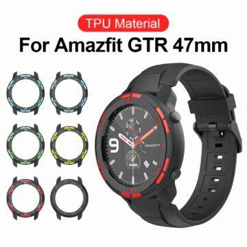 Ochranný rámeček na Huami Amazfit GTR barvy