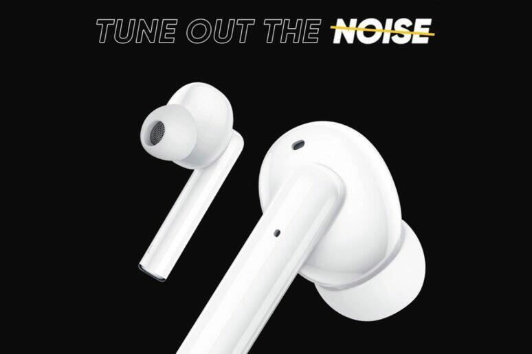 Realme Buds Air 2 s aktivním rušením hluku