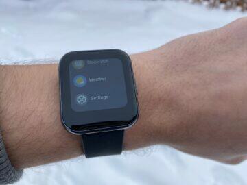 realme watch funkce