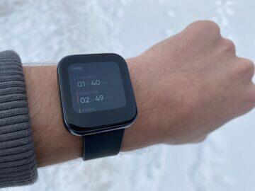 realme watch měření kyslíku