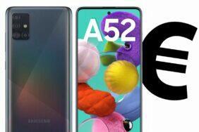 Samsung Galaxy A52 cena