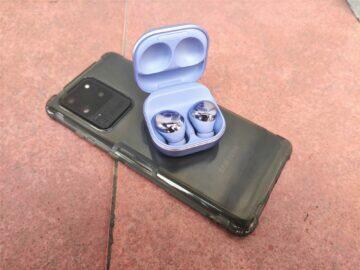Samsung Galaxy Buds Pro baterie nabíjení bezdrátové