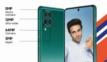 Samsung Galaxy F62 oficiálně
