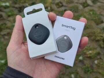 Samsung Galaxy SmartTag obsah balení