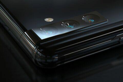 Samsung patent výsuvný otočný selfie foťák