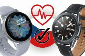 Samsung spustil EKG tlakoměr Galaxy Watch3 Active2