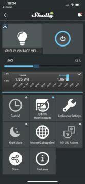 aplikace shelly cloud