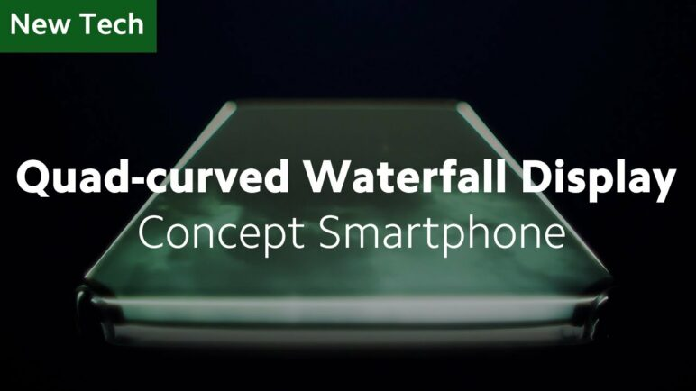 The First Quad-curved Waterfall Display Concept Smartphone