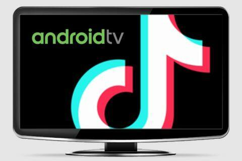 TikTok aplikace Android TV