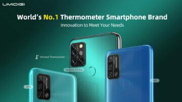 UMIDIGI telefony s teploměrem UMIDIGI Thermometer Smartphones