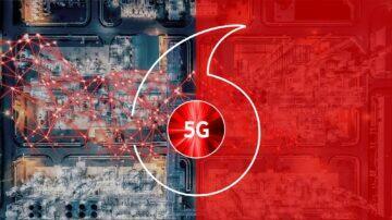 Vodafone 5G logo