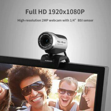 Webkamera AUSDOM AW615 rozlišení