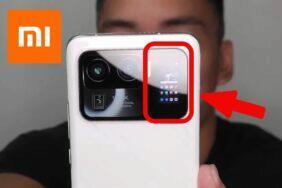 Xiaomi Mi 11 Ultra dva displeje