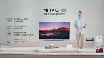 Xiaomi Mi TV Q1 75 ukázka