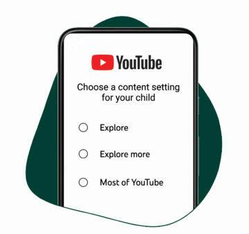 Youtube výběr úrovně obsahu podle věku dítěte