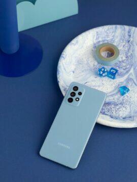 A52 5G modrá