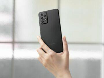 Galaxy A52 5G A72 specifikace ceny A52 černá