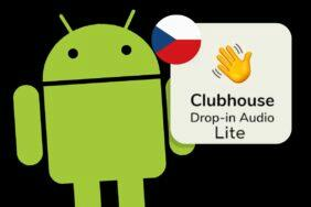 Android aplikace Clubhouse lite