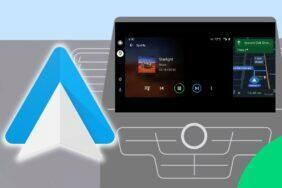 Android Auto Rozdělení obrazovky
