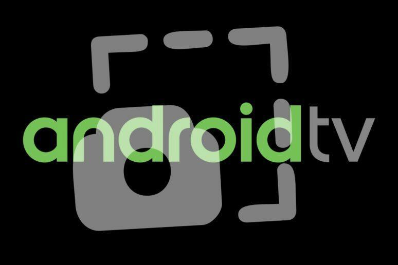 Android TV screenshot snímek obrazovky