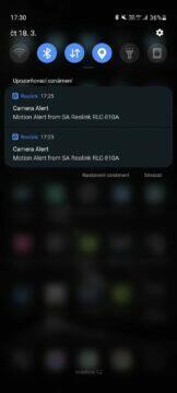 aplikace notifikace ukázka