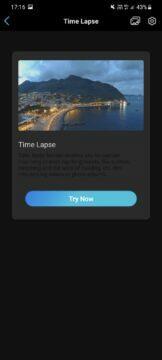 aplikace timelapse