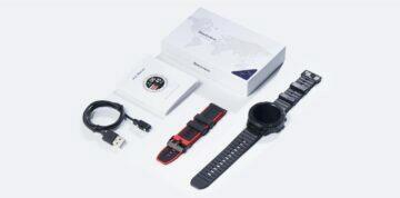 Blackview X5 chytré hodinky - balení