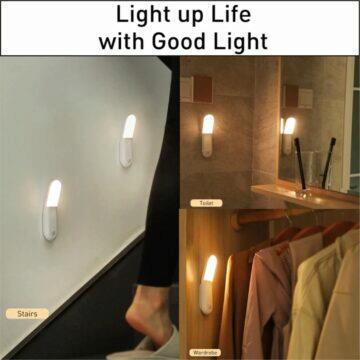 Baseus mobilní nástěnné světlo s detektorem pohybu
