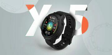 Blackview X5 chytré hodinky design